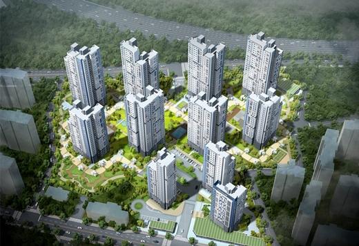 포스코건설은 다음 달 충남 아산시에 '더샵 탕정역센트로'를 분양한다. 지상 최고 28층 11개동 전용면적 76~106㎡ 939세대 규모이며, 입주는 2023년 8월 예정이다. /사진제공=포스코건설