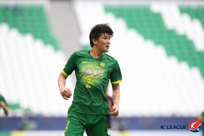 중국 베이징 궈안의 김민재. (한국프로축구연맹 제공) © 뉴스1