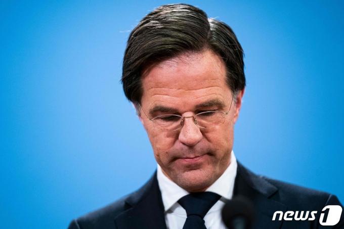 마크 뤼테 네덜란드 총리 © AFP=뉴스1
