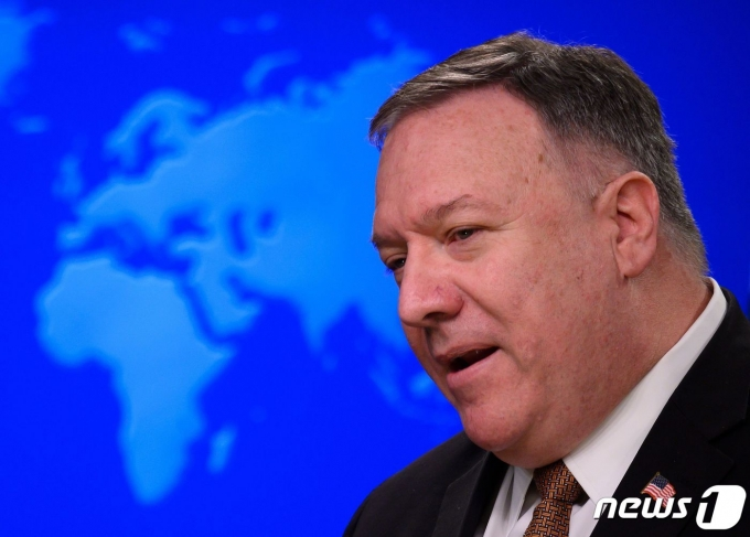 마이크 폼페이오 미 국무장관 © AFP=뉴스1