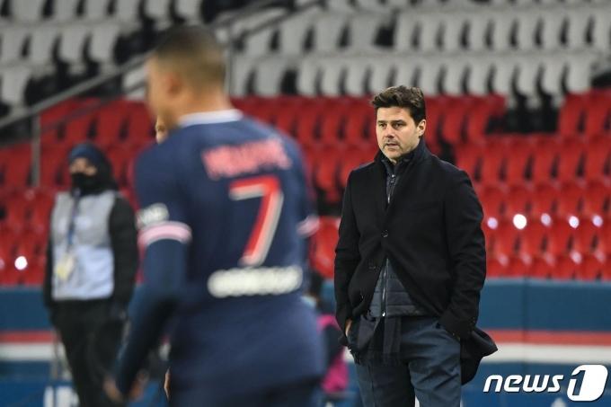 마우리시오 포체티노 토트넘 감독이 코로나19 확진 판정을 받았다. © AFP=뉴스1