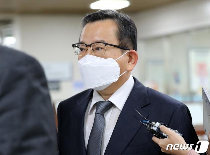 김학의 전 법무부 차관. 2020.10.28/뉴스1 © News1 박지혜 기자