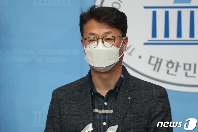장태수 정의당 대변인 자료사진. © News1 성동훈 기자