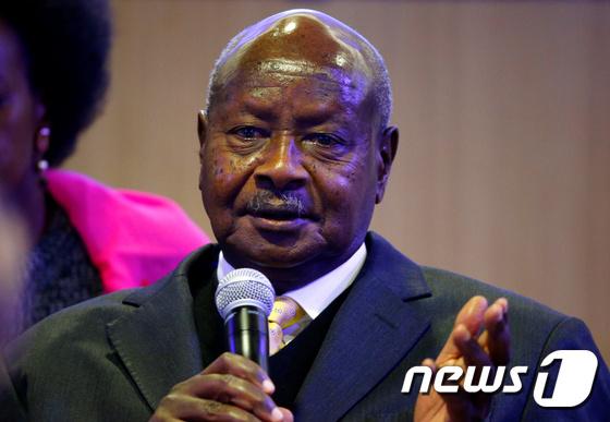 요웨리 무세베니 우간다 대통령 © 로이터=뉴스1