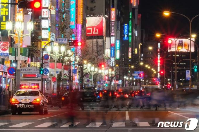 일본 수도 도쿄의 거리. © AFP=뉴스1