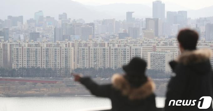지난 1월3일 서울 아파트 단지 모습. 2021.1.3/뉴스1 © News1 허경 기자