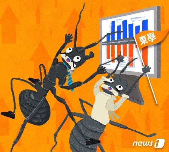 큰손 된 개미… 국내외 주식 1년간 100조 넘게 샀다