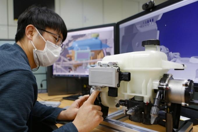 현대위아가 전기자동차 구동 부품과 배터리 부분을 통합해 열을 관리하는 모듈 개발에 국내 최초로 성공했다./사진=현대위아
