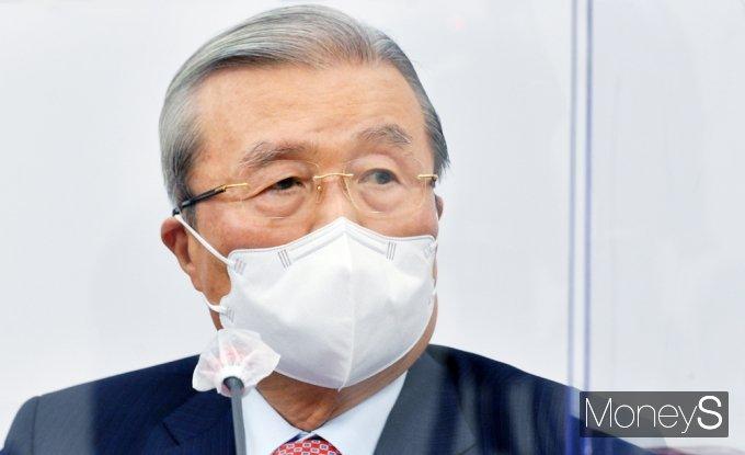 [머니S포토] 발언하는 김종인 비대위