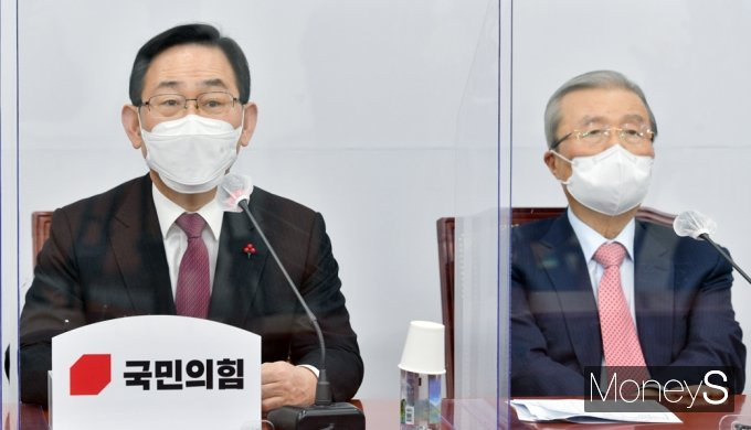 """[머니S포토] 주호영 """"민주당, 핵심 증인 채택 거부시 우리라도 별도 청문회 할 수밖에"""""""