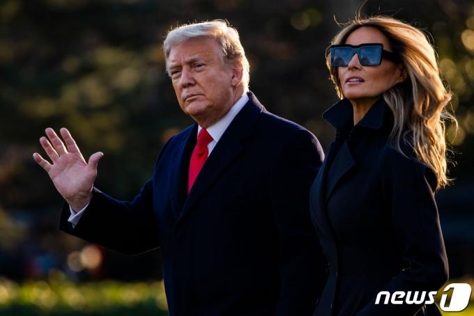 도널드 트럼프 미국 대통령과 멜라니아 여사. © AFP=뉴스1