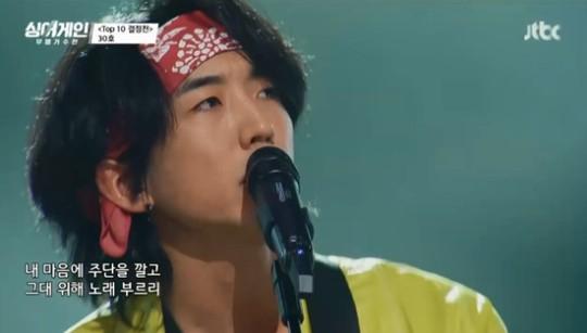 '싱어게인 30호' 이승윤이 ALL어게인을 받았다. /사진=JTBC 방송캡처