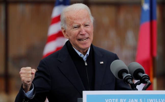 조 바이든 미국 대통령이 공식 취임한 후 국내 증시에 어떤 영향을 줄 지 관심이 쏠린다./사진=로이터