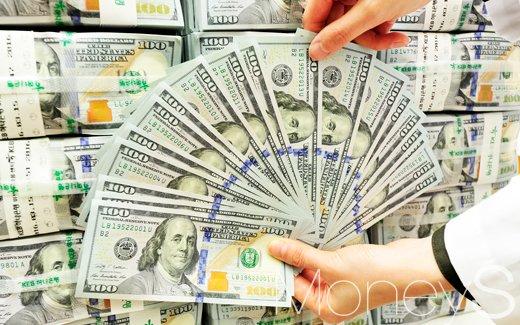 서울 중구 하나은행 위변조대응센터에서 직원이 달러 지폐를 세고 있다./사진=임한별 기자