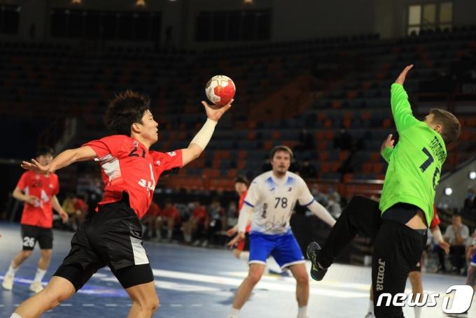 한국 남자핸드볼팀이 이집트 세계선수권대회를 3패로 마쳤다. (대한핸드볼연맹 제공)© 뉴스1