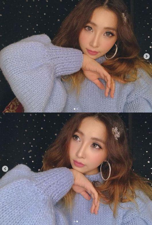 걸그룹 2NE1 출신 공민지의 근황이 화제가 되고 있다. /사진=공민지 인스타그램
