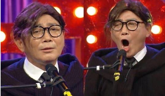 개그맨 이봉원이 부캐 '봉재형(짬뽕남)'으로 변신한 모습으로 웃음을 자아냈다. /사진=라디오스타 제공