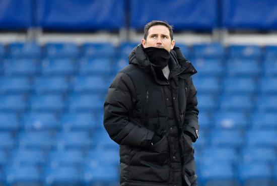 프랭크 램파드 첼시 감독이 최근 부진한 성적으로 경질 압박에 시달리고 있다. /사진=로이터