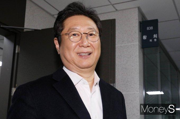 [머니S포토] 文정부 3개부처 개각…문체부 박양우 후임 '황희' 재선 의원 내정