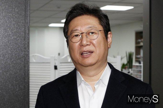 [머니S포토] 장관 내정 소감 전하는 황희 의원