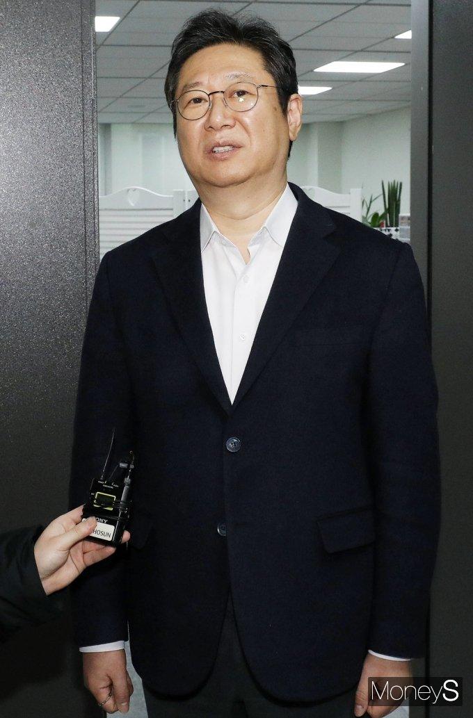 [머니S포토] 문체부 장관 내정된 황희 의원