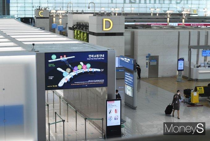 [머니S포토] 시간이 멈춘 듯한 인천국제공항