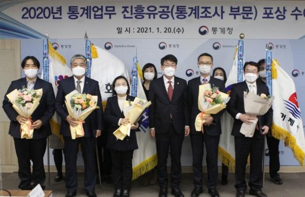 화성시, '2020년 통계업무 진흥유공'국무총리 표창. / 사진제공=화성시
