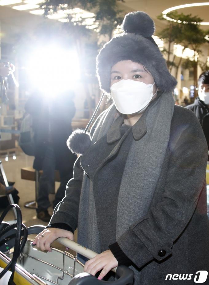 [사진] 에이미, 강제출극 5년만에 한국땅 밟았다