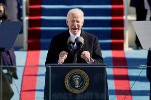 """美 바이든 시대 개막… """"모든 미국인 위한 대통령될 것"""""""