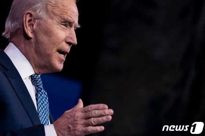 의회에 추가 부양책 합의를 촉구하고 있 조 바이든 미국 대통령. © AFP=뉴스1