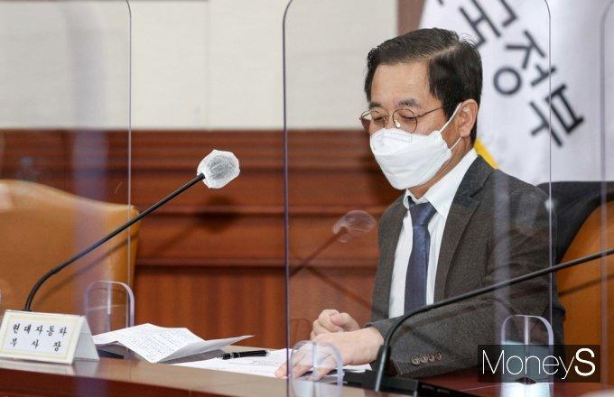 [머니S포토] BIG3 추진회의 참석한 김세훈 현대차 부사장