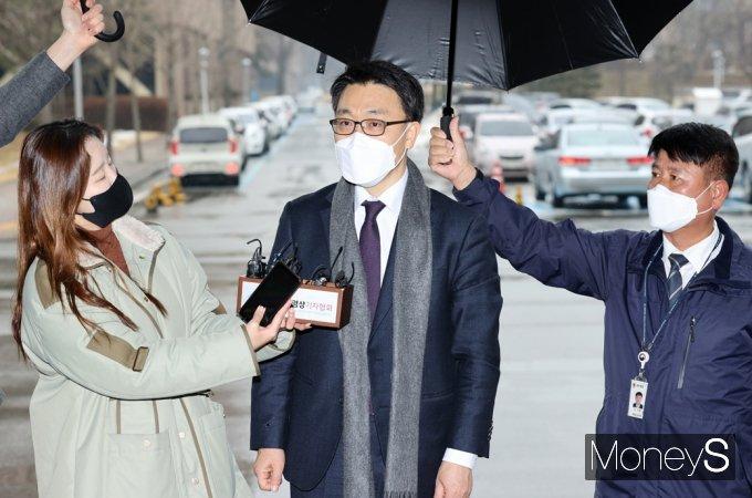 """[머니S포토] 김진욱 공수처장 """"정치적 중립·독립성 철저히 지킬 것"""""""