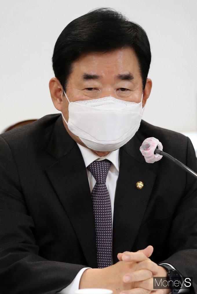 [머니S포토] 발언하는 김진표 국가경제자문회의 의장