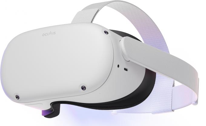 페이스북 자회사 오큘러스의 VR 헤드셋 '오큘러스 퀘스트2'. 애플이 개발 중인 헤드셋도 이와 유사할 것으로 예측된다. /사진=오큘러스 홈페이지 캡처