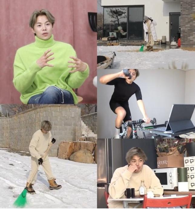 배우 박은석이 22일 밤 11시5분에 방송되는 MBC '나 혼자 산다'에서 양평 전원생활을 공개한다. /사진=MBC 제공