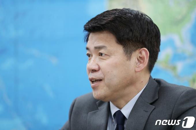 김준형 국립외교원장 2020.2.26/뉴스1 © News1 박지혜 기자