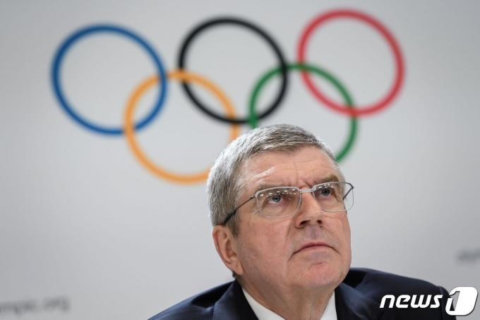 토마스 바흐 국제올림픽위원회(IOC) 위원장. © AFP=뉴스1
