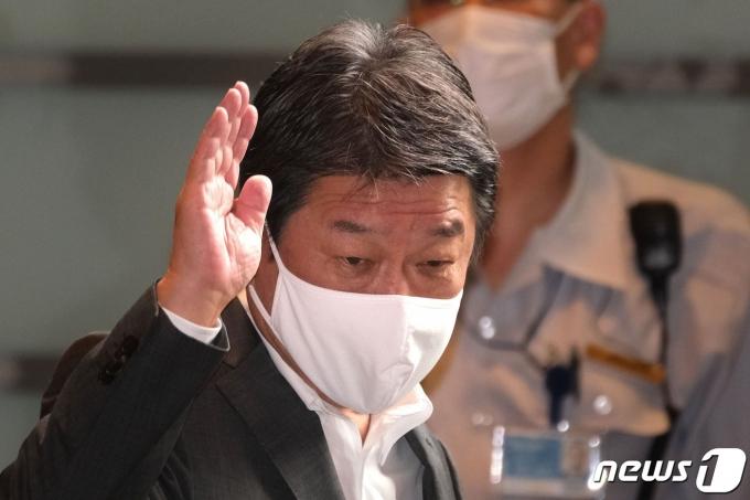 모테기 도시미쓰 일본 외무상. © AFP=뉴스1