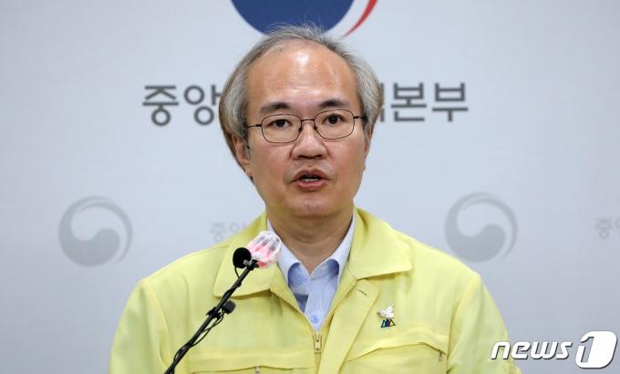 권준욱 중앙방역대책본부 부본부장./뉴스1 © News1 장수영 기자