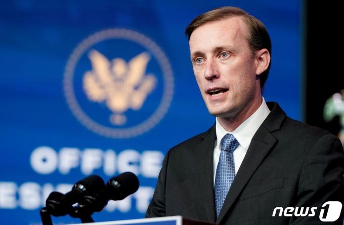 제이크 설리번 미국 백악관 국가안보보좌관 <자료사진> © 로이터=뉴스1