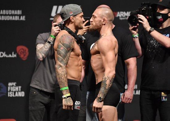 "Poirier vs. McGregor, UFC 라이트 랭킹 2-4 위 … ""1 분 안에 TKO""(?)"