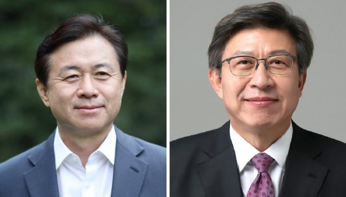 민주당 김영춘 예비후보(왼쪽), 국민의힘 박형준 예비후보/사진=머니S DB