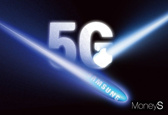 삼성 vs 애플, 5G 스마트폰 '왕좌' 대결