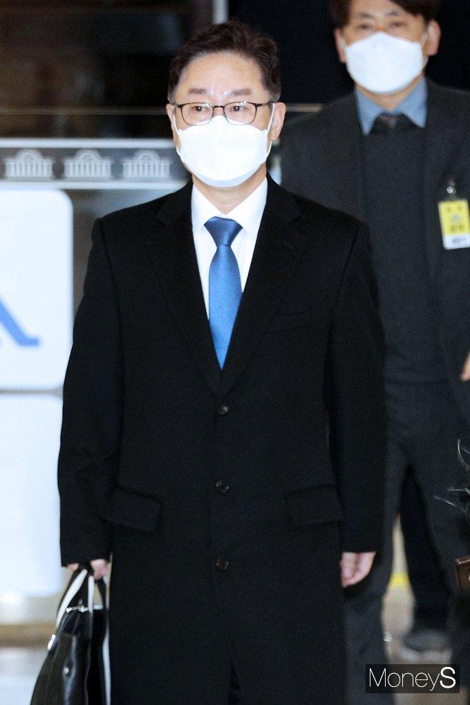 [머니S포토] 박범계 청문회 '재산누락·검찰개혁' 등 쟁점