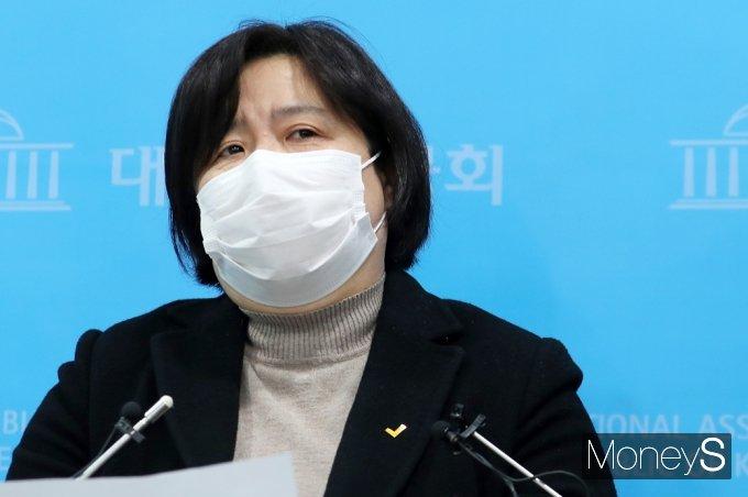 [머니S포토] '김종철 성추행' 관련 정의당 긴급 기자회견