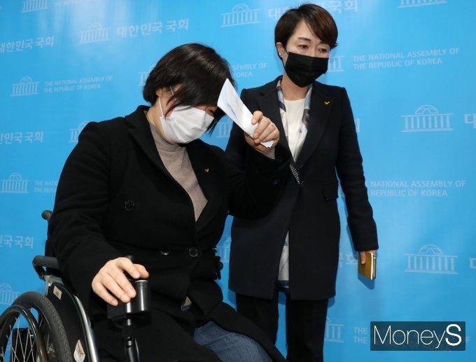 """[머니S포토] 정의당 """"김종철 성추행 피해자, 형사상 고소 고려하지 않는 것으로..."""""""