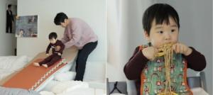 '아내의 맛' 이필모, '나 홀로 육아' 실생활 놀이동산은?