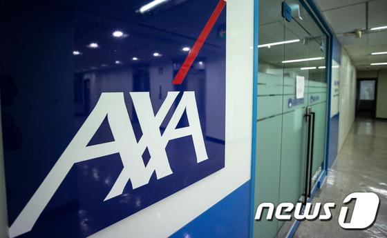 보험사들이 점포 축소를 통해 수익성 개선을 도모하고 있다. 사진은 서울 시내 폐쇄된 악사손해보험 대리점./사진=뉴스1