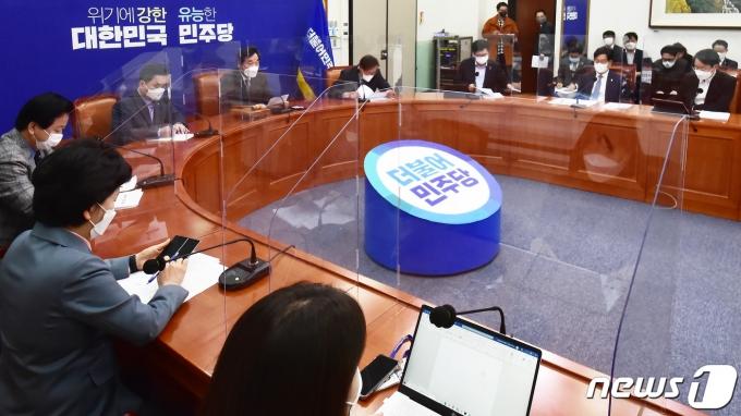 민주당 최고위원회의 자료사진. 2020.12.11/뉴스1 © News1 박세연 기자