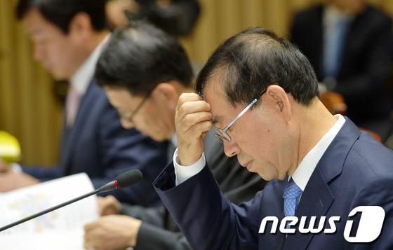 박원순 전 서울시장 © News1 임세영 기자